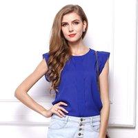 Women's Blouses & Shirts Korean Fashion Womens Tops And Chiffon Women T Short Sleeve White Feifei Plus Size XL Ladies