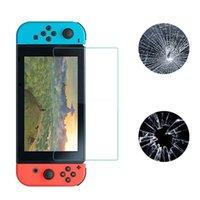 강화 유리 9H 울트라 얇은 프리미엄 강화 유리 스크린 보호기 필름 HD 스위치에 대 한 Nintendo 스위치를위한 맑은 방지 스크래치