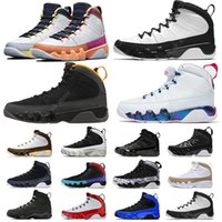 2021 Change The World 9 9s Mens Basketball Shoes University Gold Space Jam Gym Red Racer Blue Chameleon UNC Anthracite Dream Sports Sneakers
