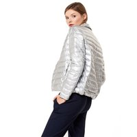 Ladies Jackets cheap Plain weave women down customize your own winter jacket