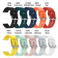 Lüks Tasarımcılar Spor Silikon Smart Watch Band Askı Samsung 20mm 22mm Bantlar Için Aksesuarları