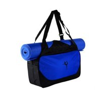 الجملة-اليوغا حصيرة حقيبة اللياقة الرياضية الأمتعة السفر تخزين اليوغا الملابس حقيبة سادة ماء حقيبة