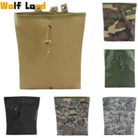 Outdoor Bags Tactical Molle Dump Magazine Pouch Military Army Recovery Waist Bag Pack AR15 Hunting Camping Accessories Drop