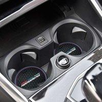 2021 Anti-Slip Cup Pad For BMW X3 X4 F10 F11 F07 E60 E61 F01 G11 F25 G01 G26 G02 F15 G05 E70 F16 G06 M Car Coasters Holder Mats