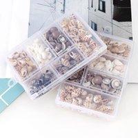 Artículos de la novedad 100 g / caja Conchas naturales Conchas Mini Mini Tornillo de maíz Decoración de la pared DIY Aquarium Paisaje Casas conchas Crafts / Decoración del partido