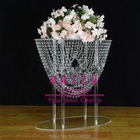 Party Decoration Crystal Cake Stands For Wedding Cakes,wedding Centerpiece Flower Holder,wedding Event Deco Rack Dessert Holder