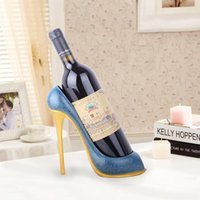 Tabletop Wine Racks High-Heeled Shoes Rack Resin Crafts Restaurant Window Cabinet Decorative Ornaments Creative Gifts