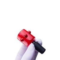 도매 g076 14mm 18mm 남성 헤드 리 유리 그릇 비커 봉지 액세서리 부스 포수 Bubbler Dab rigs 물 파이프