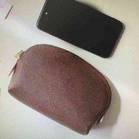 M47515 N60024 حقيبة صغيرة للنساء أزياء صغيرة ماكياج الحقيبة أكياس تخزين المحمولة الحالات السفر مستحضرات التجميل المحفظة محفظة