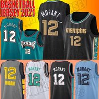JA 12 Morant Jersey 13 Jaren Jackson Jr. Jerseys MemphisGrizmaJersey Büyük Yüz Gerileme Vancouver Formalar
