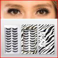 3D Nerz Wimpern 14 Arten 10 Paare Make-up Lange Natürliche Eime Wimpern Verlängerung Falsch Gefälschend Dicke Mixed Individual Wholesale Wimpern