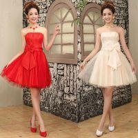 Bridesmaid Dress Bride Dresses Wedding Evening Short Skirt Elegant Special Occasion Party