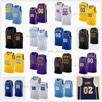Özel Baskılı Basketbol Formaları 7 Carmelo 0 James Westbrook 6 Anthony 39 Dwight 3 Davis Howard 11 Malik 12 Kendrick Monk Nunn 1 Trevor Joel Ariza Ayayi Jersey