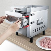 Meat Grinders 850W Drawer Cutter Commercial Automatic Slicer Stainless Steel Vegetable Cutting Machine Easy-to-change Blade Grinder