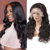 Lace Wigs Body Wave Front Wig T Part For Women Human Hair 30 Inch Brazilian Remy PrePlucked