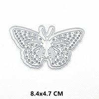 Painting Supplies 2021 Butterfly Metal Cutting Dies DIY Scrapbooking Paper Po Crafts Knife Mould Cards Embossing Mold Stencils For Dec