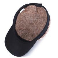 2021 Shade Beyzbol Şapkası ile Çivili Saçlar Peruk Beyzbol Şapka Çivili Peruk Erkekler Kadınlar Casual Muhtasar Güneşlik Ayarlanabilir Sun Visor