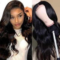 Perruques de cheveux humains 24Incheslong Curly Mid-Point Bangs Big Wave Chemical Fibre WIG