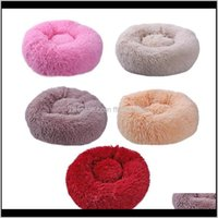 Kennels Pens Pet Home & Gardensuper Large Round Washable Pets Bed Winter Warm Sleeping Plush Dog Kennel Mats Puppy Cushion Mat Cat Supplies