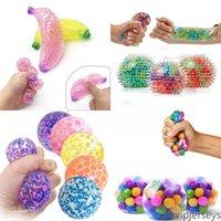 Stati Uniti Stock Stress Balles Balls colorato palla Autismo umore spremere sollievo sano giocattolo divertente gadget ventilato giocattolo bambini regalo di natale