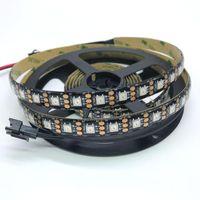 Strips WS2812B 5 V 74LEDS individuali indirizzabili Digital LED Striscia SK6812 nastro Intelligent RGB PROGRAMMABILE Smart Pixel nastro