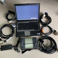Ferramentas diagnósticas MB Star C3 com software SSD 2014.12 Super Speed Multiplexer e 5 cabos mais D630 Laptop 4G Pronto para trabalhar