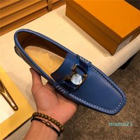 Q1 Big Size Men Genuine Leathers Shoe Luxury Slip On Black Shoes Real Leather Loafers Mens Shoes Italian Designer Shoes 11