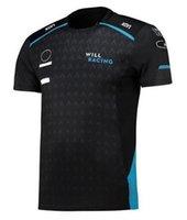 2021F1 T-shirt da corsa Formula Una tuta da team personalizzabile per auto personalizzabile