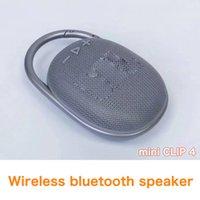 Clip 4 Speakers mini Portable Bluetooth Speaker Wireless 3D HIFI Subwoofer Handsfree Outdoor Stereo Loudspeaker Deep Bass Music Box