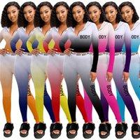 Bulk Items Wholesale Lots Tracksuits 2021 Summer Two Piece Set Long Sleeve Zipper Hoodie Sport Suit Fashion Women Clothes K7335