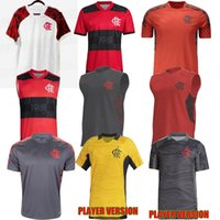21 22 Flamengo Soccer Jersey 2021 2022 Brazils SuperCopa Final Guerrero Diego Vinicius JR Maglie GABRIEL B Calcio Away Adulto Portiere Versione Camicia