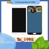 Cep Telefonu Dokunmatik Paneller Samsung E7 E700 E7000 için En Kaliteli LCD Ekran Tamir Ekran Değiştirme Meclisi Sayısallaştırıcı