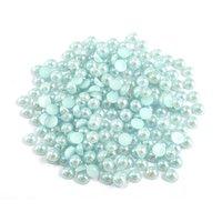 5000 stks 5 mm half ronde hars parel voor dames handgemaakte sieraden accessoires HP028-HO051 II