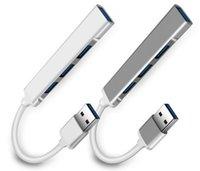 USB HUB 3.0 Type-C 3.1 4 Port Multi Splitter Adapter OTG for PC Computer Accessories