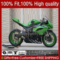 Kawasaki Ninja 600cc ZX 6R 6 R 600 CC 2009-2012 13NO.28 ZX636 ZX6R09 10 11 12 ZX-636 ZX600C ZX-6R 2009 2011 2011 2012 OEMボディグリーンストック
