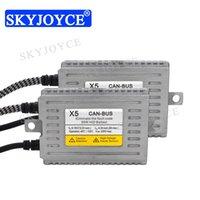 Faróis de carro Skyjoyce 12V 55W Original DLT HID Lastro Sem Erro Canbus X5 para Farol H1 H7 H7 H11 Kit