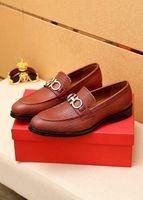 Nueva alta calidad 2021 hombres negocios formal zapatos de brogue marco de hombre zapatos de vestir masculino casual cuero genuino boda bodas mocasines tamaño 38-45