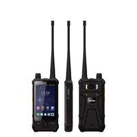 Walkie Talkie 4 pouces P1 4G LTE Mobile Téléphone Mobile Gant Touch IP67 Imperméable POC 5W UHF DMR 3 + 32 GoPlone de téléphone portable NFC Smartphone