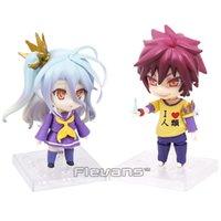 Kein Spiel Life Shiro 653 / Sora 652 Puppe PVC Action Figure Sammeln Modell Spielzeug