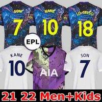 Männer + Kinder 21 22 Kane Sohn Bergwijn NDOMLLEE Fussball Trikots 2021 2022 Tottenham DELE JERSEY FUSSBALL HEMD LO CELSO MORGAN BALE LAMELA LUCAS 4. Højbjerg Away loris