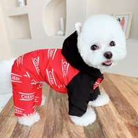 Winter Dog Jumpsuit Coat Jacket Puppy Small Costume Outfit Warm Clothes Yorkshire Pomeranian Poodle Schnauzer Clothing Apparel 1842 V2