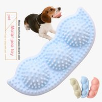Pet Dog Chew Pea Bite Resistant Toys Toothbrush TPR Molar Teeth Toy Interactive Training Puppy Supplies Accessories