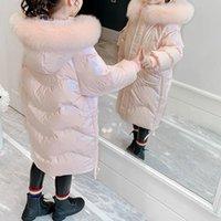 Down Coat Kids Winter School Girls Children Clothing Boys Long Jacket Baby Girl Clothes Faux Fur Collar Snowsuit Outerwear Parka