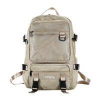 Backpack Trend Large-capacity Student Shoulder Bag Casual Men And Women Loose