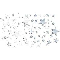 Наклейки стены Стикер спальни DIY Наклейка Домашняя комната Украшения Живой декор Съемный .1 Набор