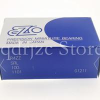 (10 pcs) EZO polegada rolamento de esferas R4zz R4z Y1 / 4ZZ RF8020 R4SS R4Chh 6,35mm 15.875mm 4.978mm