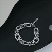Link, Chain Men Bracelet Cuban Links & Chains Stainless Steel For Bangle Male Accessory Wholesale Jewelry