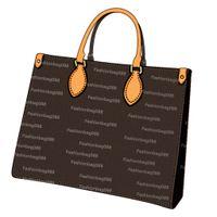 2021Lady сумка мода сумка классический стиль кожа коричневый черный цветок большая тотальная мульти функция