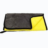 Asciugamano di lavaggio Asciugamano in microfibra Pulizia Auto Soft Duster 30x30 cm Casa auto