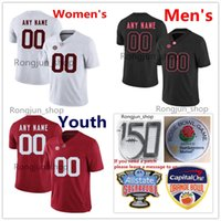 Пользовательские мужчины детские женщины NCAA колледж футбол 15 Xavier Mckinney Jersey Alabama Crimson Tide Delan MoSes Ridley Derrick Henry Jake Coker Julio Jones